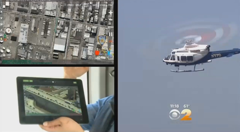 NYPD's New Bell 429 Fights Crime with Churchill Navigation ARS