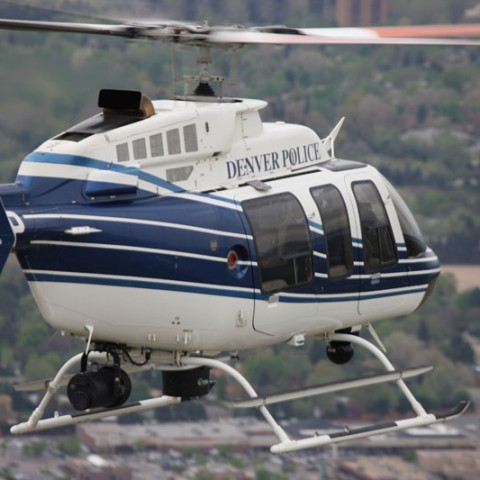 Denver Police Helicopter