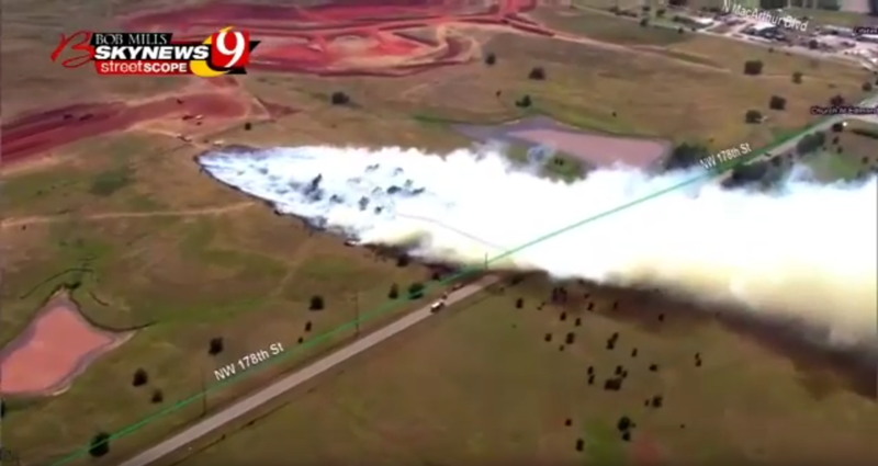 Mapping Wildfires Live on TV using ARS